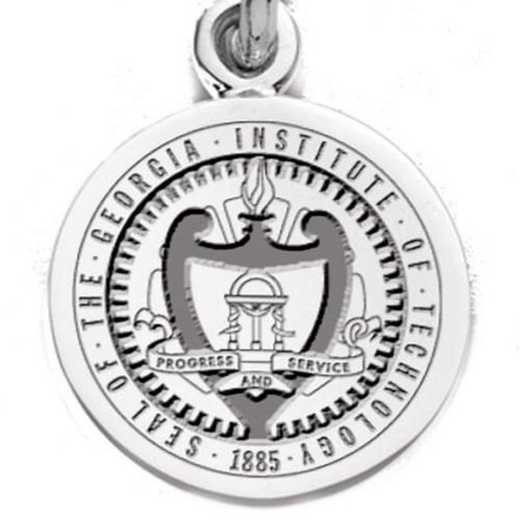 615789288930: Georgia Tech SS Charm by M.LaHart & Co.