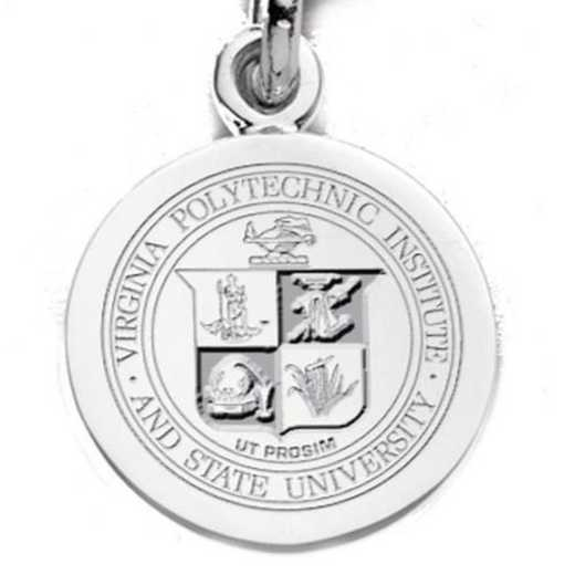 615789712381: Virginia Tech SS Charm by M.LaHart & Co.