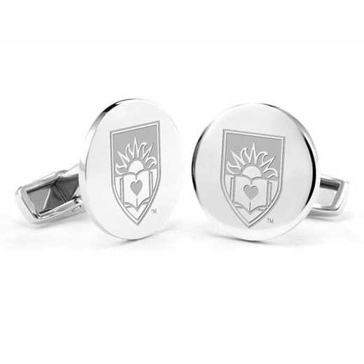 615789910947: Lehigh University Cufflinks in Sterling Silver