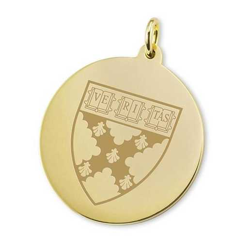 615789433637: Harvard Business School School 18K Gold Charm