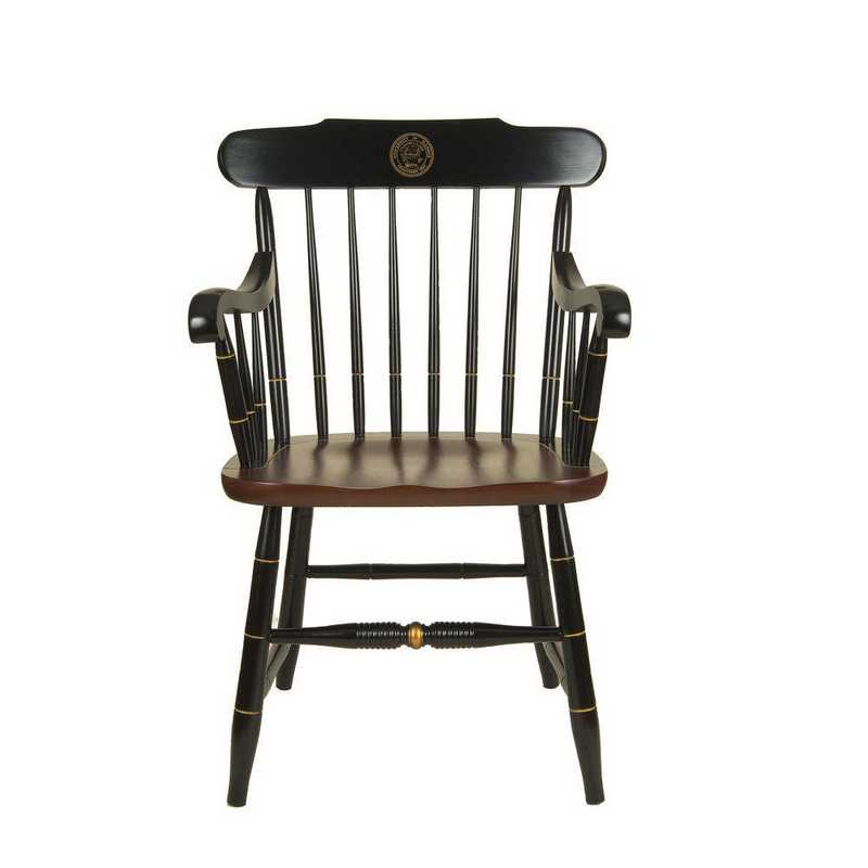 615789602088: University of Illinois Captain's Chair by Hitchcock