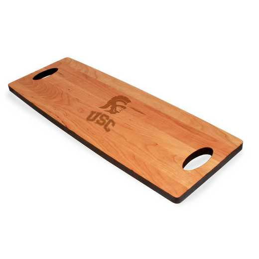 615789323754: Univ of Southern California Cherry Entertaining Board