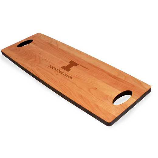 615789603610: Univ of Illinois Cherry Entertaining Board