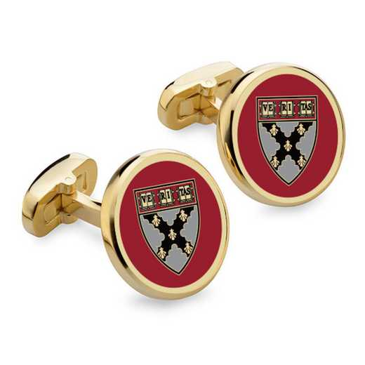 615789204213: Harvard Business School Enamel Cufflinks