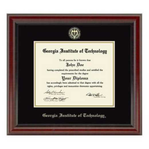 615789046189: Georgia Tech Diploma Frame, the Fidelitas
