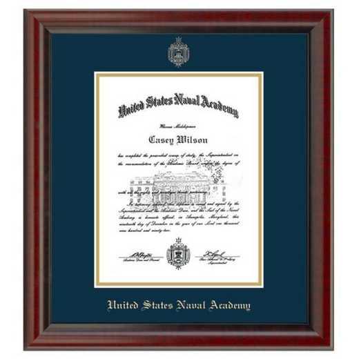 615789051947: US Naval Academy Diploma Frame- the Fidelitas