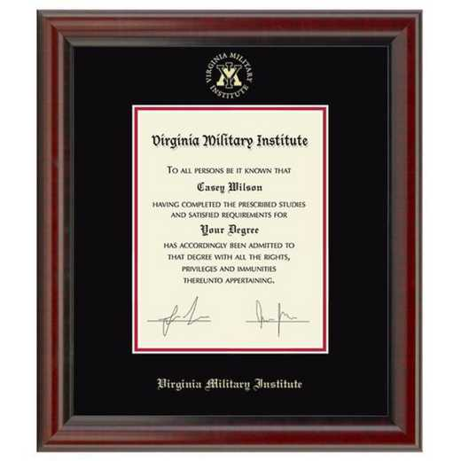 615789062714: Virginia Military Institute Diploma Frame- the Fidelitas