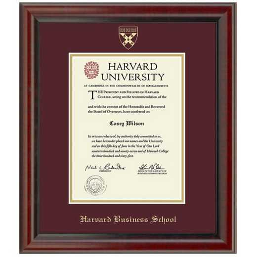 615789071549: Harvard Business School Diploma Frame, the Fidelitas