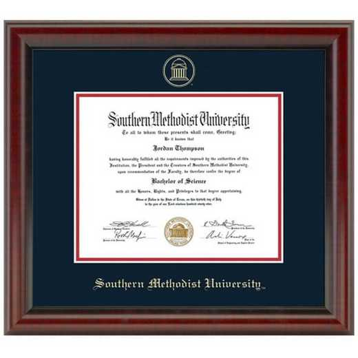 615789125655: Southern Methodist University Diploma Frame, the Fidelitas
