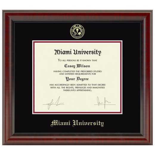 615789151364: Miami University Diploma Frame- the Fidelitas