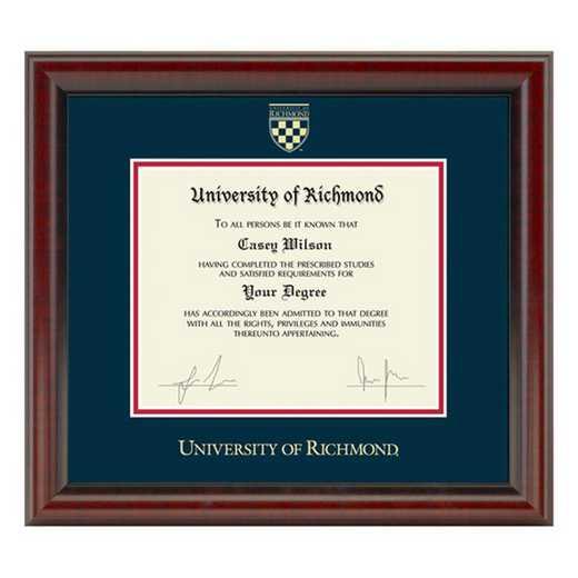 615789248538: University of Richmond Diploma Frame- the Fidelitas
