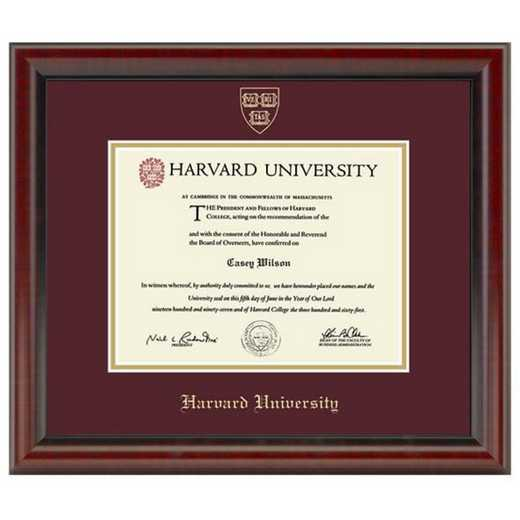615789281054: Harvard University Diploma Frame, the Fidelitas