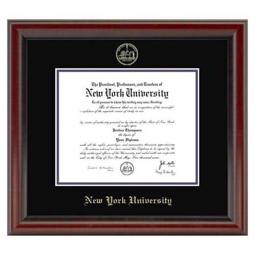 615789332466: New York University Diploma Frame- the Fidelitas