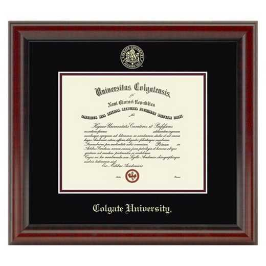 615789358244: Colgate University Diploma Frame- the Fidelitas