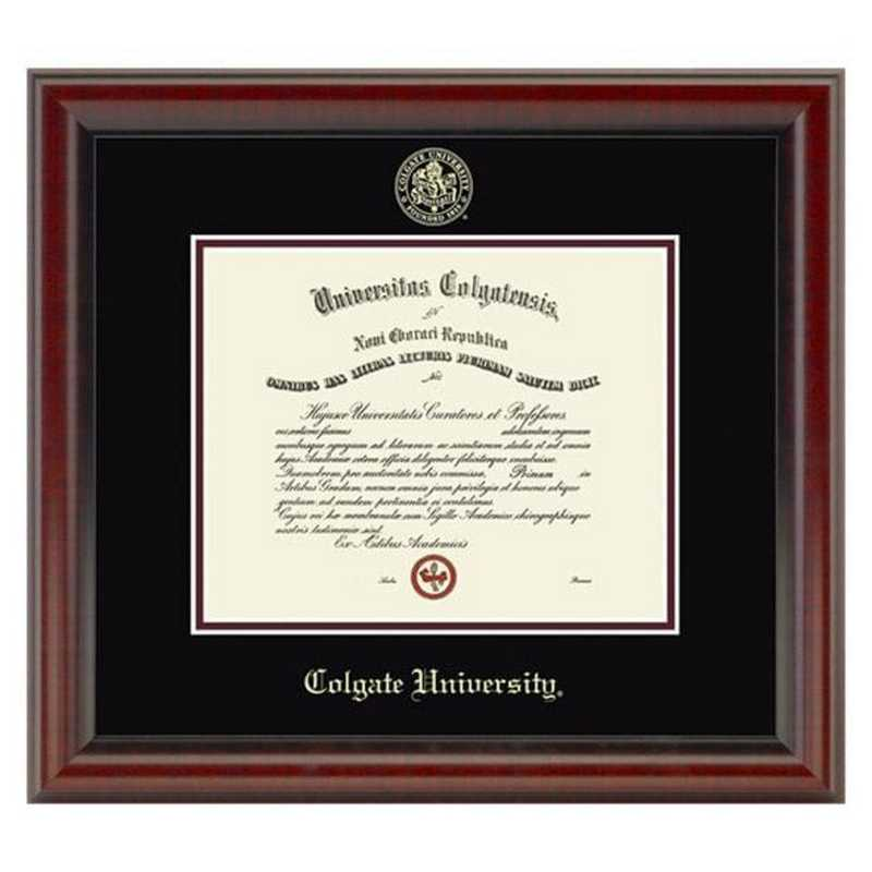 615789358244: Colgate University Diploma Frame, the Fidelitas
