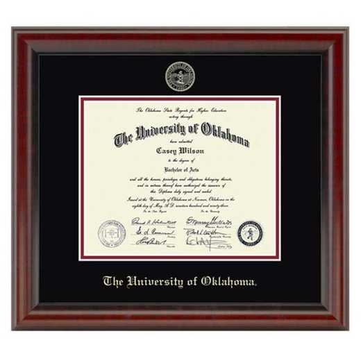 615789360247: University of Oklahoma Diploma Frame- the Fidelitas