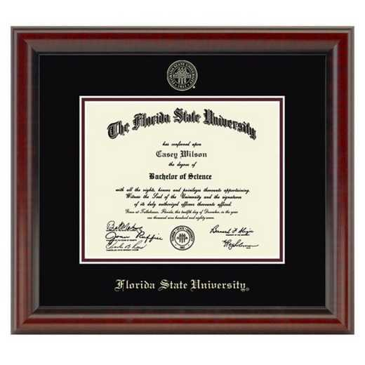 615789424116: Florida State University Diploma Frame- the Fidelitas