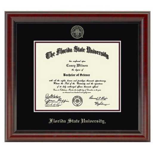 615789424116: Florida State University Diploma Frame, the Fidelitas