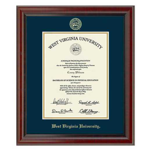 615789424178: West Virginia University Diploma Frame- the Fidelitas