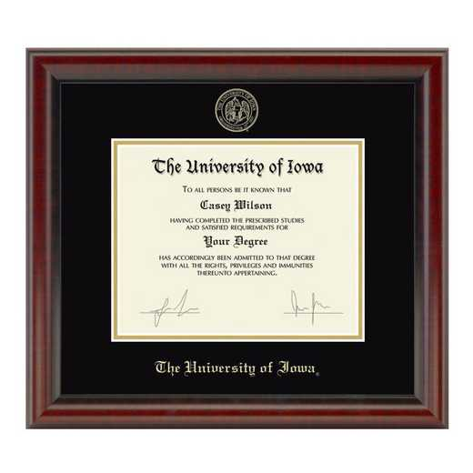615789434702: University of Iowa Diploma Frame- the Fidelitas