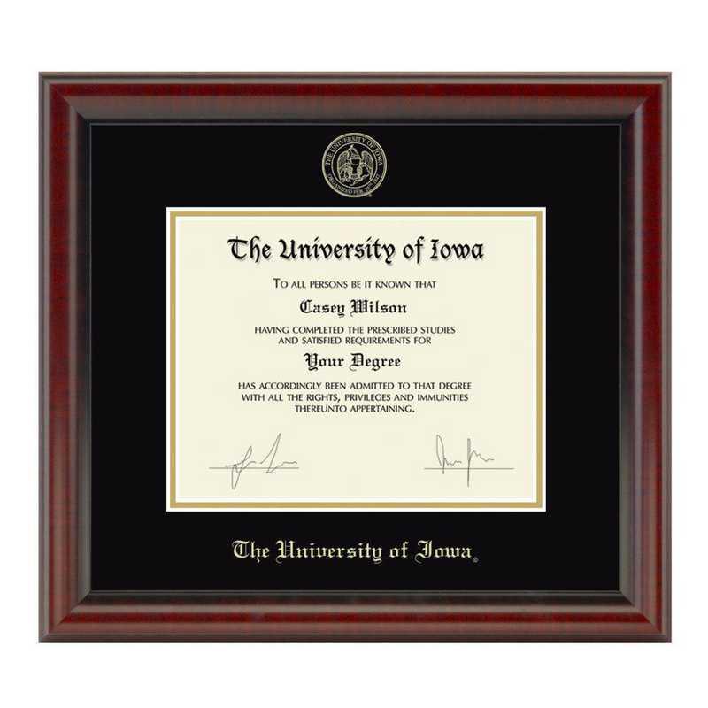 615789434702: University of Iowa Diploma Frame- the Fidelitas