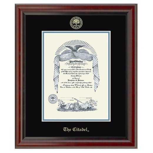 615789556909: Citadel Diploma Frame- the Fidelitas