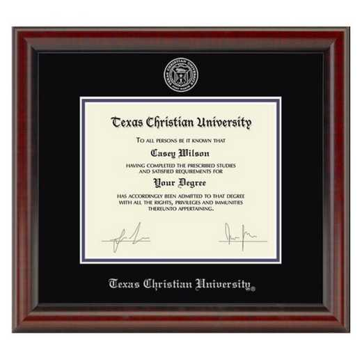 615789624189: Texas Christian University Diploma Frame- the Fidelitas