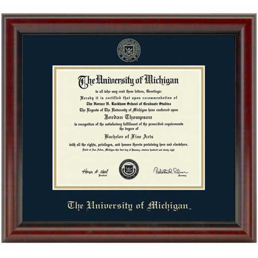 615789639350: University of Michigan Diploma Frame- the Fidelitas