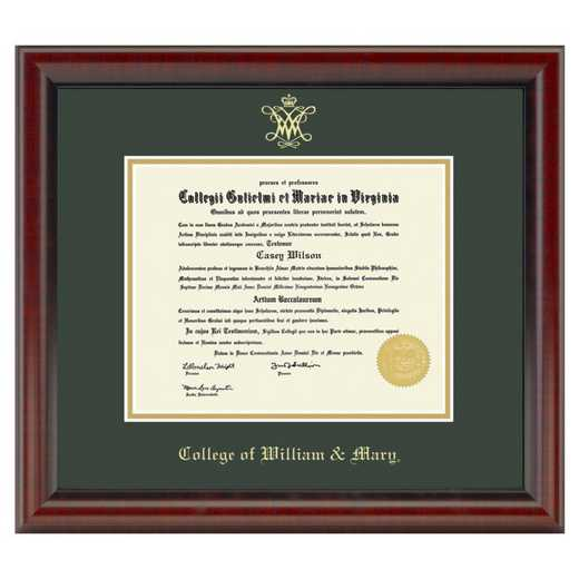 615789641599: College of William & Mary Diploma Frame- the Fidelitas