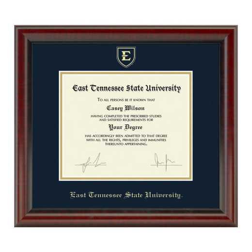 615789653554: East Tennessee State University Diploma Frame- the Fidelitas