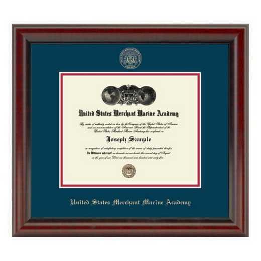 615789677413: US Merchant Marine Academy Diploma Frame- the Fidelitas