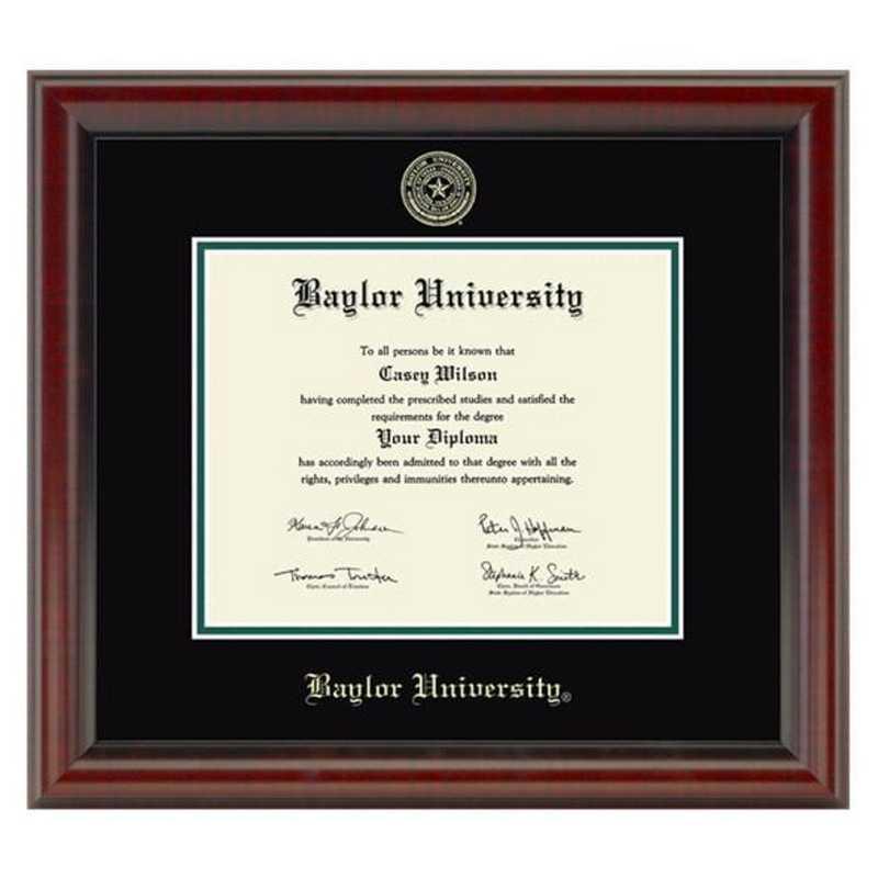 Baylor University Diploma Frame The Fidelitas By M Lahart Co