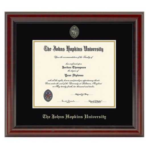 615789706083: Johns Hopkins Fidelitas Diploma Frame