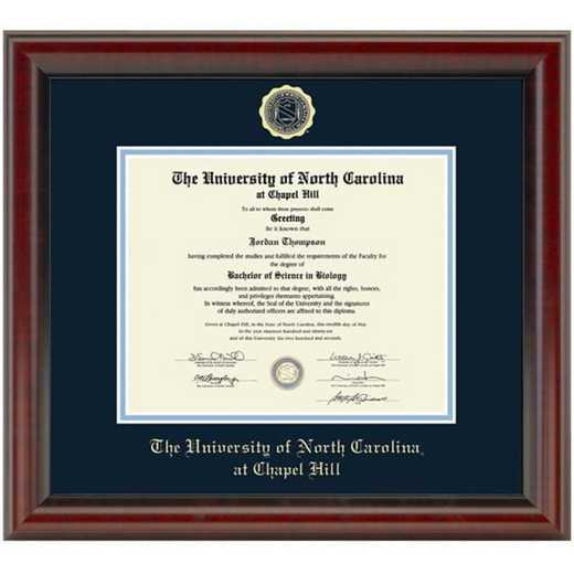 615789713845: University of North Carolina Diploma Frame- the Fidelitas