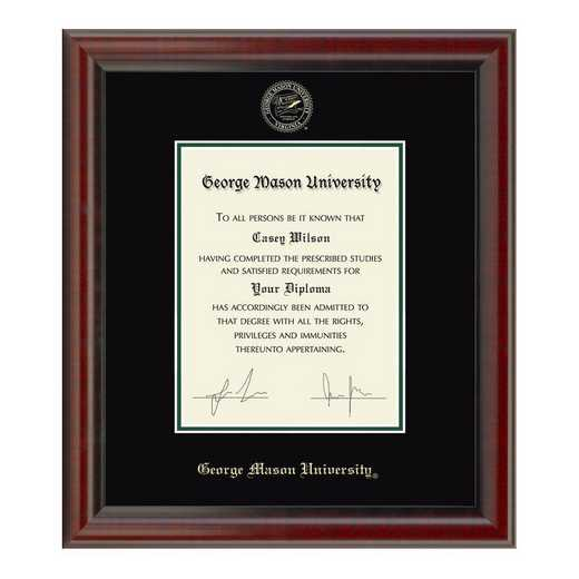 615789726227: George Mason University Diploma Frame- the Fidelitas
