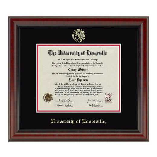 615789800330: University of Louisville Diploma Frame- the Fidelitas