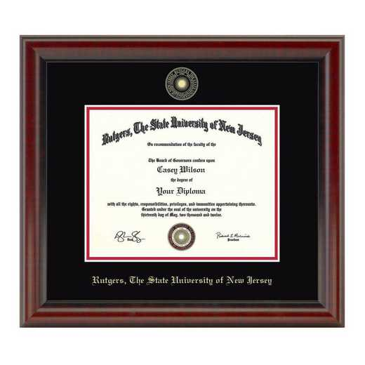 615789802594: Rutgers University Masters/PhD Diploma Frame- the Fidelitas
