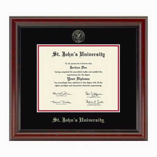 615789843191: St. John's University Diploma Frame, the Fidelitas