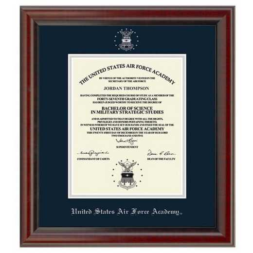 615789875628: US Air Force Academy Diploma Frame- the Fidelitas