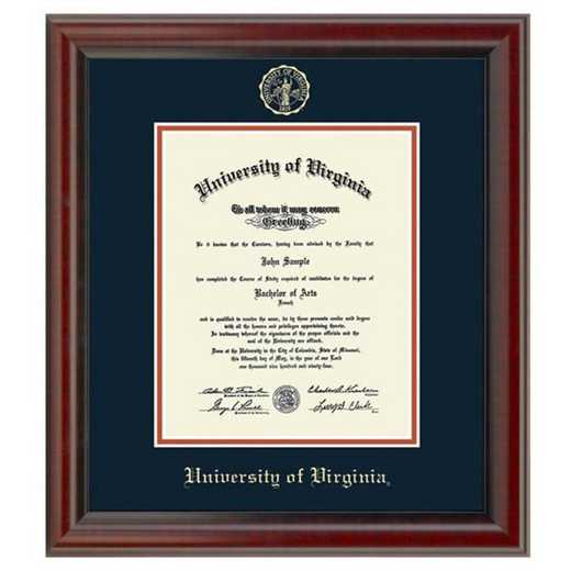 615789877905: University of Virginia Diploma Frame- the Fidelitas