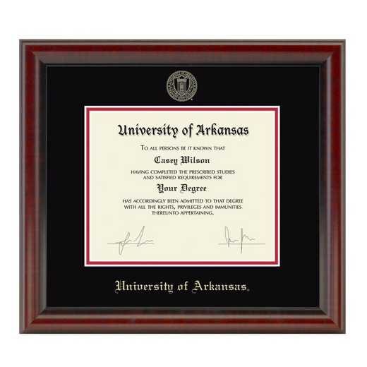 615789878421: University of Arkansas PhD Diploma Frame- the Fidelitas