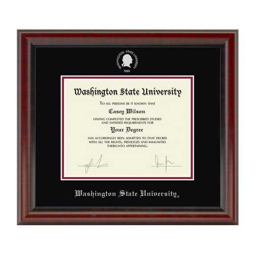 615789895015: Washington State University Diploma Frame- the Fidelitas