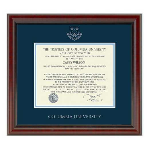 615789906155: Columbia University Diploma Frame- the Fidelitas