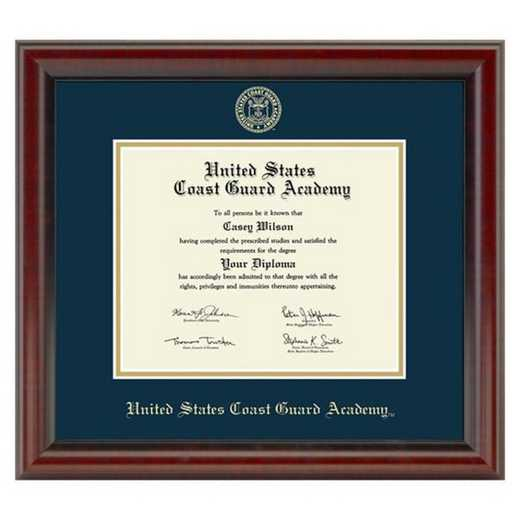 615789930914: US Coast Guard Academy Diploma Frame- the Fidelitas