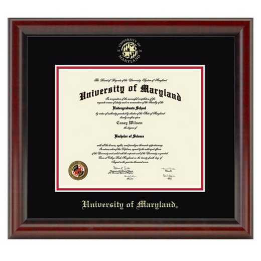 615789983774: University of Maryland Diploma Frame- the Fidelitas