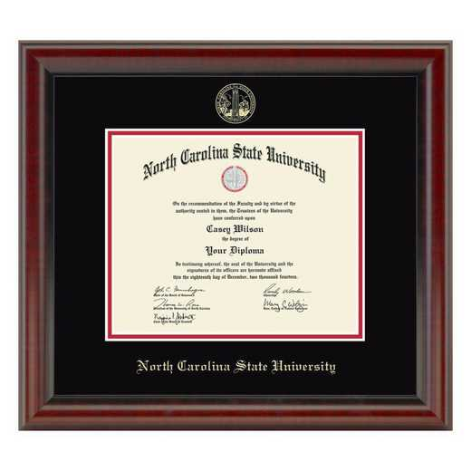 615789983996: North Carolina State Diploma Frame, the Fidelitas