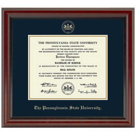 615789998297: Penn State University Diploma Frame- the Fidelitas