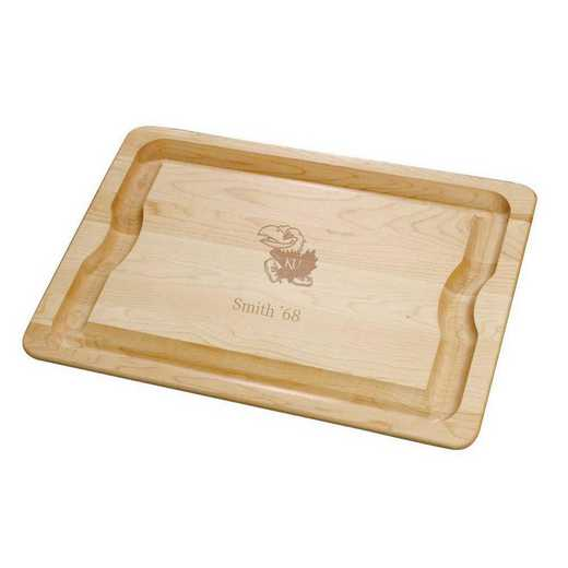 615789430094: Univ of Kansas Maple Cutting Board
