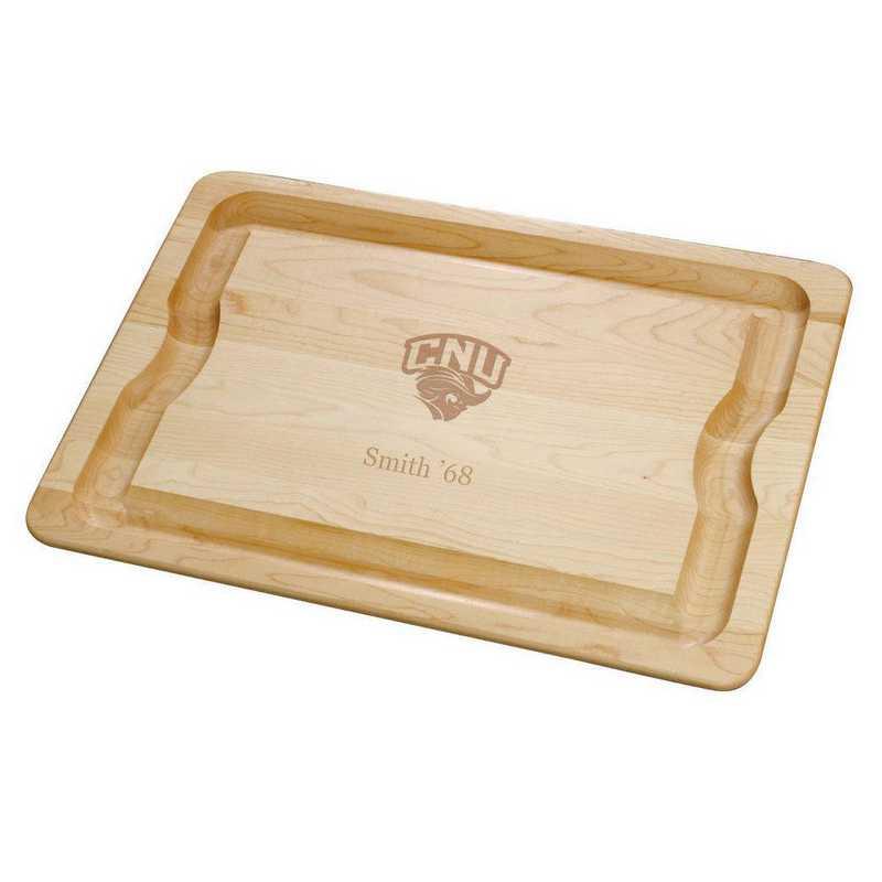 615789623687: Christopher Newport Univ Maple Cutting Board