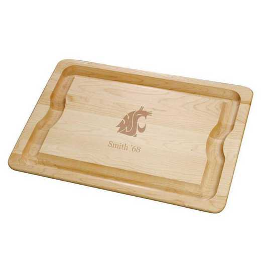 615789972211: Washington State Univ Maple Cutting Board
